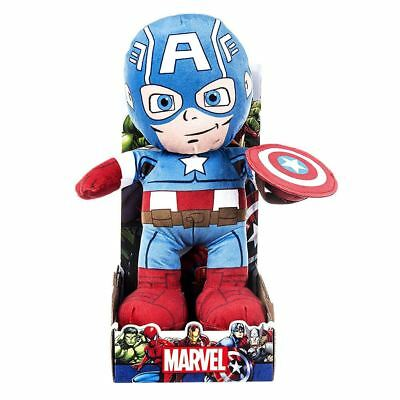 16ca131496ee Official Licensed Marvel Avengers Captain America Character 10 inch Plush  Toy