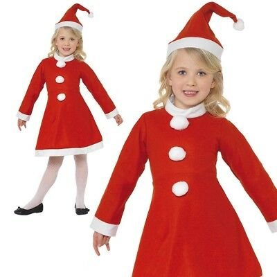 CK899 Santa Claus Xmas Christmas Child Girls Party Dress Up Costume Outfit Hat