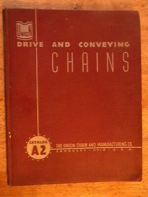1942 Union Chain & Conveying Catalog Old Company Sandusky Oh Ohio Swivels Wheels