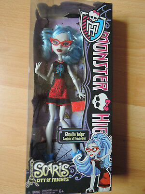 Monster High Ghoulia Yelps Scaris US Edition OVP NRFB Sammler 2013