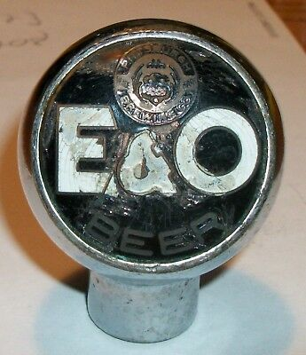 Early!!! E & O Tap Knob Pittsburgh  Brewing Co. Poor Condition