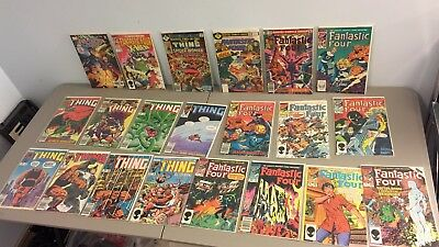 Lot of older Marvel Comics - Fantastic Four & The Thing