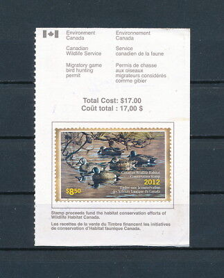 CANADA  #FWH28 used, Federal Wildlife Conservation Stamp, 2012
