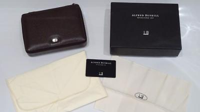 *original Luxury Dunhill Leather Travelling Double Watch Holder Case*