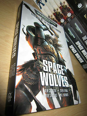Ben Counter, Rob Sanders ++ SPACE WOLVES Anthology 1st/PB MINT Warhammer 40K