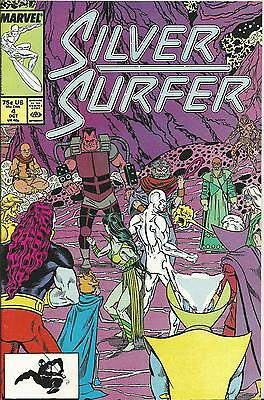Silver Surfer #4  (3Rd Series - 1987) Marvel (Nm-)