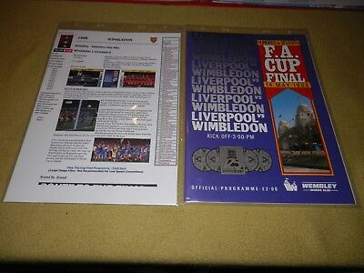 Presentation File of Wimbledon v Liverpool in 1988 FA Cup Final at Wembley