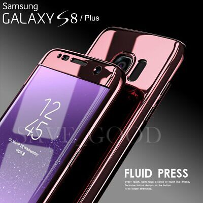 For Samsung Galaxy S7 Edge S8 Ultra Thin Full Body Shockproof Hard PC Case Cover