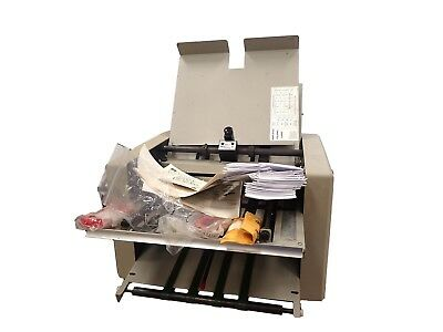 Martin-Yale 959 AutoFolder W/Extra Parts Manual Variable Speed of 18000 Sheets/H