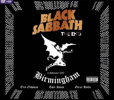 Black Sabbath - The End/The Angelic Sessions [Dvd/Cd] [Pa] [Digipak] Used - Very