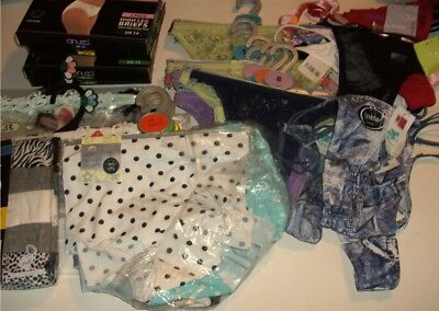 New Wholesale Job Lot  of 65 Assorted Knickers Thongs  & Shorts Including  M&S