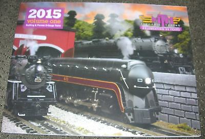 MTH Catalog 2015 Volume I One Railking & Premier O Gauge Trains, 177 pages NEW