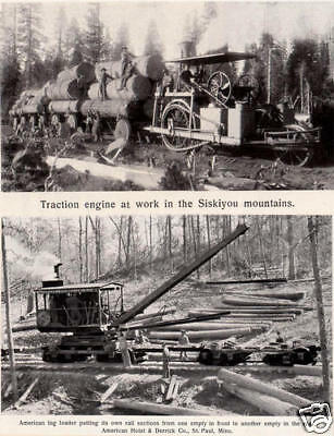 LOGGING AND LUMBERING Carl Schenck Biltmore Forest School forestry silviculture