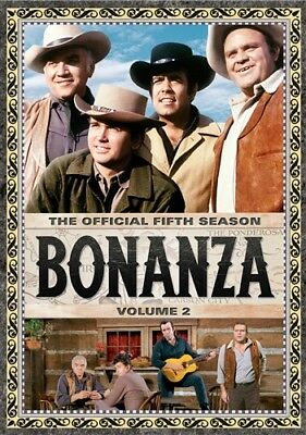 BONANZA THE OFFICIAL FIFTH SEASON 5 VOLUME 2 New Sealed 4 DVD Set 16 Episodes