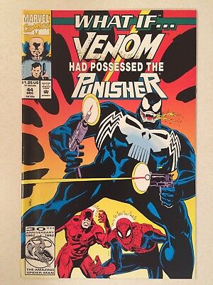 What if #44 What if Venom had Possessed the Punisher VF condition