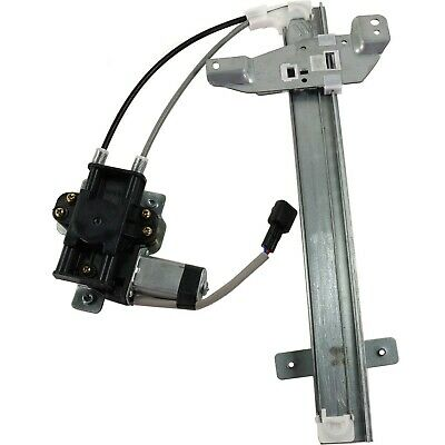 Power Window Regulator For 97-2005 Buick Century Rear, Driver Side With Motor