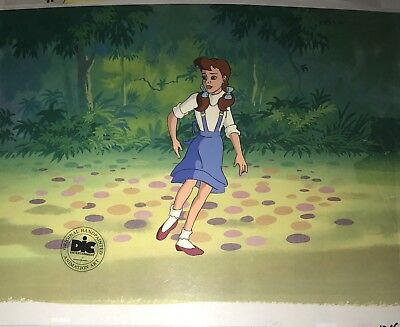 WIZARD OF OZ Original Animation Production Art Cel DIC SEAL