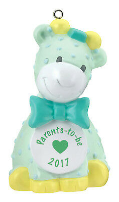Carlton Heirloom Ornament 2017 Parents to Be - Giraffe - #CXOR011M