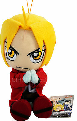 Fullmetal Alchemist Ed Edward Elric Sitting Pose Plush New W/ Tag Official