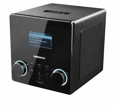 MEDION LIFE P85044 MD 87180 Wireless LAN WLAN Internet Radio DAB+ DLNA UKW UPnP