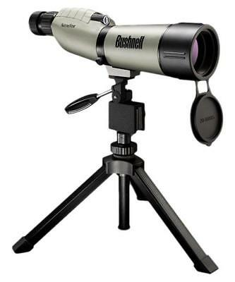 Bushnell NatureView 20-60x65 Spotting Scope - Straight Viewing, Green
