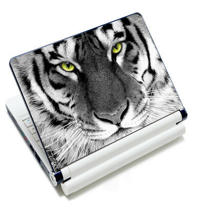 "Tiger Decal Sticker Skin Cover For 16""17""17.3""17.4"" Sony HP Dell Acer Laptop PC"