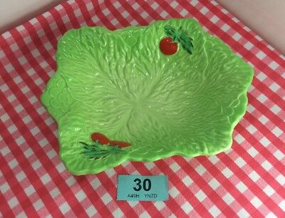 Lovely Beswick Ware Tomato And Lettuce Leaf Salad Dish