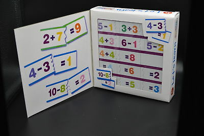 New Lets Learn Puzzle Sums Early Maths 3+ Years Addition Subtration Ack