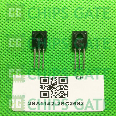 5x 2SA1227 5x 2SC2987 A1227//C2987 Silicon Transistor NEC TO-3PF LOT OF 5 PAIRS