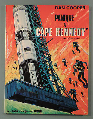 Dan Cooper 14 Panique a Cape Kennedy Weinberg Lombard 1970 EO