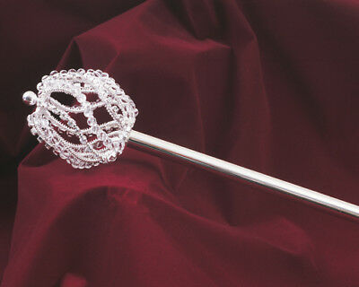 Austrian Rhinestone Crystal Scepter Wand for Princess Pageant Bride Prom #3561