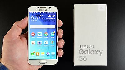 New In Box Samsung Galaxy S6 SM-G920v 32GB White Pearl For Verizon Network