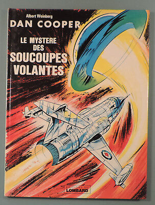 Dan Cooper 13 Mystere des Soucoupes Volantes Weinberg Lombard 1978 Reedition