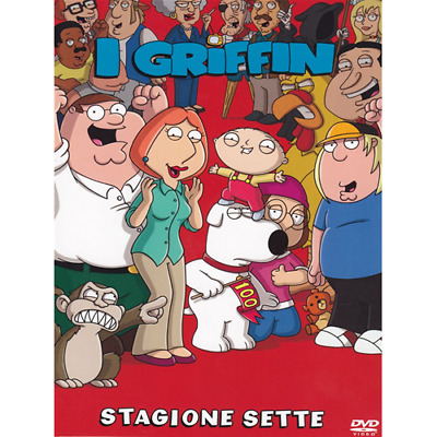 Griffin (I) - Stagione 07 (3 Dvd)