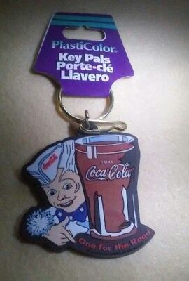 Classic Coca-Cola One for the Road  Keychain - FREE SHIPPING