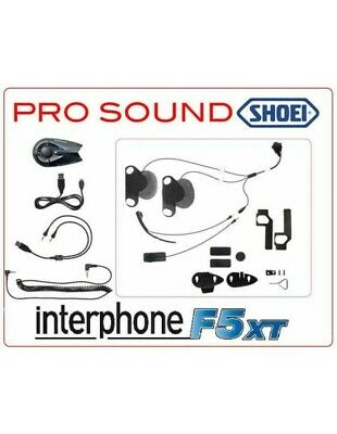 RXUK Single Interphone F5XT Pro Sound Shoei -simile F5MC-