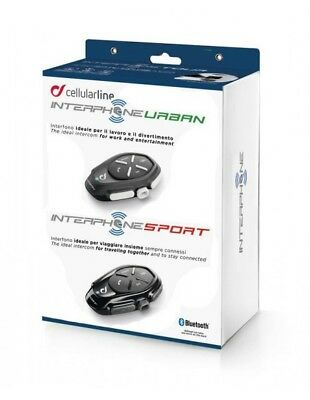 RXUK Kit Sport Urban Interphone Cellularline