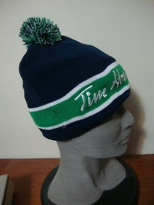 Rare New W Tag Tim Hortons Toque Hat Timbits Minor Hockey Excellent