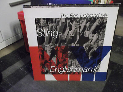 """Sting: Englishman in New York-Ben Liebrand Mix, 3 Songs, A&M 12""""-Maxi"""