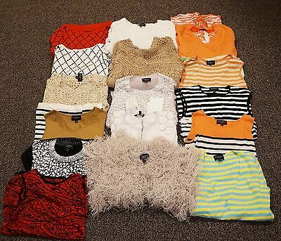 RONDINA Etcetera Wholesale LOT Designer 16 pc Womens Clothing Tops Vest