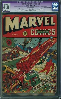 MARVEL MYSTERY COMICS #39 cgc 4.0
