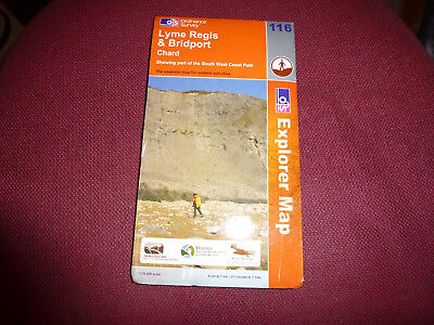Lyme Regis and Bridport by Ordnance Survey (Sheet map, folded, 2005)