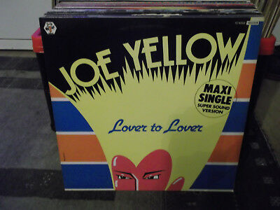 """Joe Yellow: Lover To Lover Super Sound Version), 2 Songs, Baby-Rec., 12""""-Maxi"""