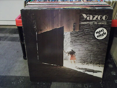 """Yazoo: Don't Go-Re-Mixes, Mute-Records, 12""""-Maxi"""