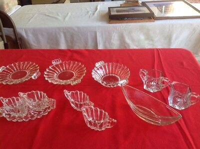 Lot of 8 Piece Vintage Heisey Crystolite