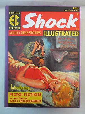 EC Library Complete PICTO FICTION HC Slipcase Box Set Gemstone Shock Terror++