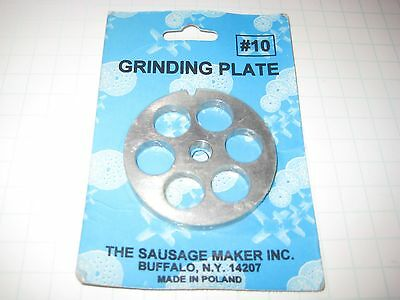 Grinding Plates #10 The Sausage Maker Inc.carbon Steel