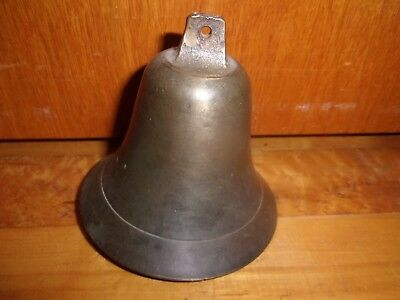 Antique Solid Brass Sleigh Or Animal Bell