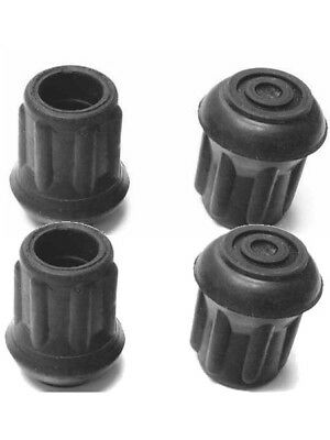"4 RUBBER FEET COMMERCIAL GRADE Lincoln Redco 303 Nemco 45457 Reinforced 1/2""OD"