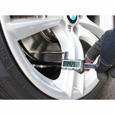 iGaging Brake Rotor Gauge Wheels On Large Digital Electronic Display Caliper